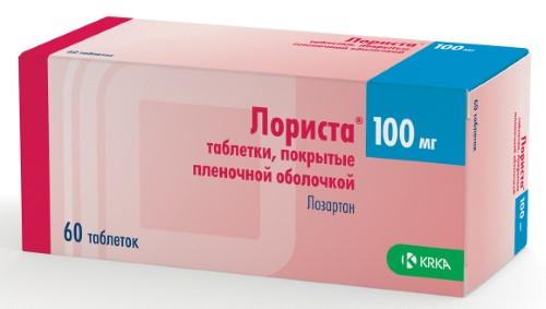 Купить ЛОРИСТА 0,1 N60 ТАБЛ П/ПЛЕН/ОБОЛОЧ цена