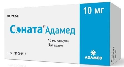 Купить СОНАТА АДАМЕД 0,01 N10 КАПС цена