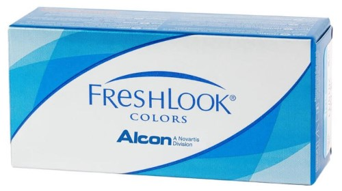 Купить Freshlook colors цветные контактные линзы плановой замены цена