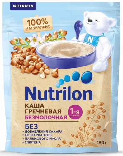 Купить NUTRILON БЕЗМОЛОЧНАЯ ГРЕЧНЕВАЯ КАША 180,0 цена