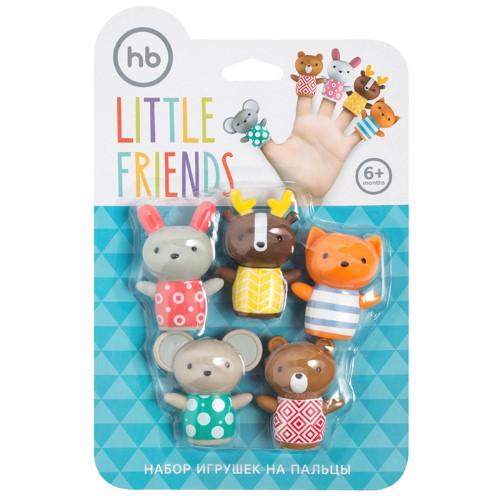 Купить HAPPY BABY НАБОР ПВХ-ИГРУШЕК ДЛЯ ВАННОЙ LITTLE FRIENDS 6+ цена