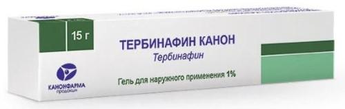Купить ТЕРБИНАФИН КАНОН 1% 15,0 ГЕЛЬ Д/НАРУЖ ПРИМ цена