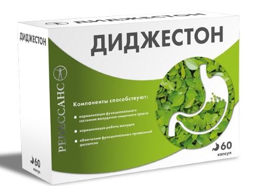 Купить РЕНЕССАНС ДИДЖЕСТОН N60 КАПС МАССОЙ 0,55Г цена