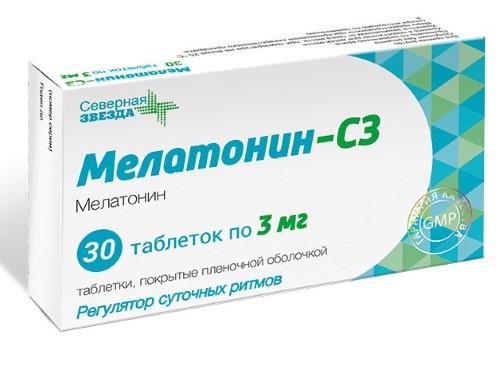 Купить Мелатонин-сз цена