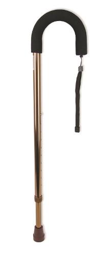 Купить Трость amcс31 инвалидная телескопическая металлическая с закругленной рукояткой с мягким покрытием цена