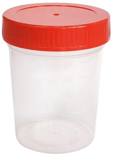 Купить Контейнер полимерный для биологического материала с крышкой цена