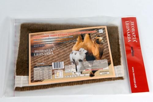 Купить Наколенник согревающий эластичный из шерсти верблюда цена