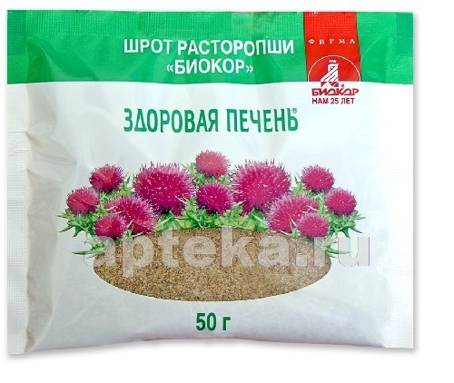 Купить Расторопша шрот биокор цена