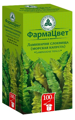 Купить ЛАМИНАРИИ СЛОЕВИЩА /МОРСКАЯ КАПУСТА/ 100,0 цена