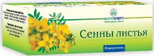 Купить СЕННЫ ЛИСТЬЯ 1,5 N20 Ф/ПАК/ФИТОФАРМ цена