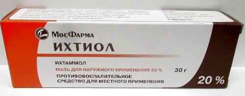 Купить ИХТИОЛ 20% 30,0 МАЗЬ Д/НАР ПРИМ/ТУБА/МФФ/ цена