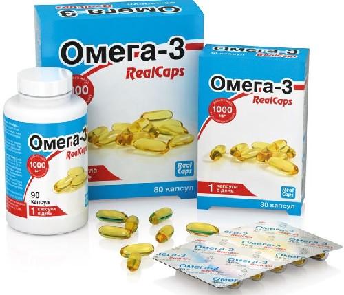 Купить ОМЕГА-3 REALCAPS 1,4 N90+N80+N30 КАПС/ПРОМО цена