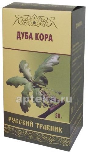 Купить Дуба кора серии русский травник цена
