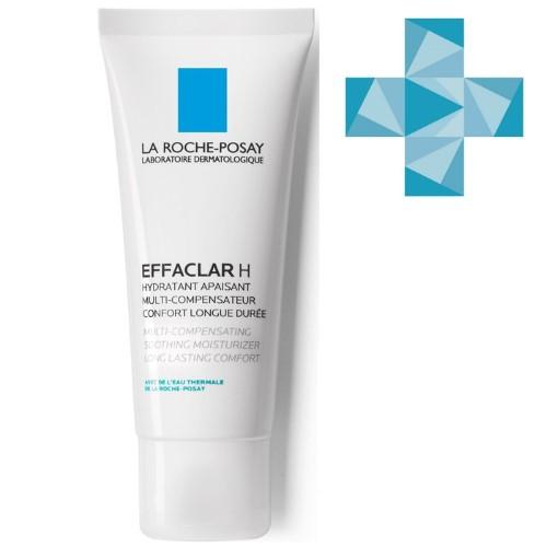 Купить Effaclar h восстанавливающее средство для кожи, пересушенной в результате применения пересушивающих средств 40мл цена