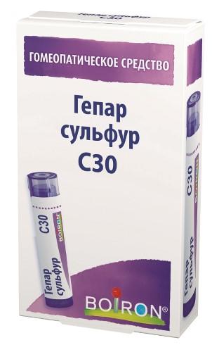 Купить Гепар сульфур с30 гомеопат монокомп препарат минерально-химич происхожд цена