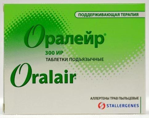 Купить ОРАЛЕЙР 300ИР N30 ТАБЛ П/ЯЗЫЧ цена