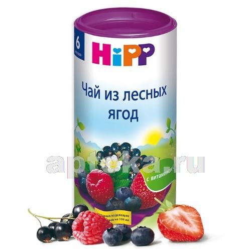 Купить HIPP ЧАЙ ИЗ ЛЕСНЫХ ЯГОД 6+ 200,0 цена