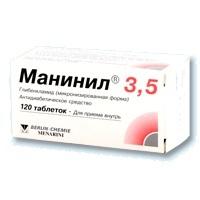 Купить Манинил 3,5 цена